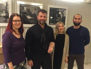 Suomi Syyria Yhteisön väkeä tapaamassa